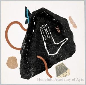 Onchi Koshiro: Poem No. 2: Of the Mountain - Honolulu Museum of Art