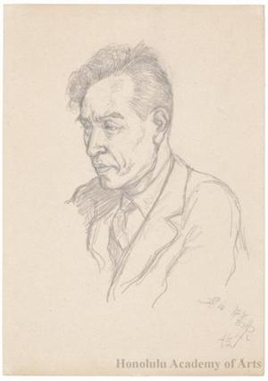 Onchi Koshiro: The Poet Hagiwara Sakutarö - Honolulu Museum of Art