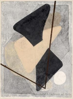 Onchi Koshiro: Lyric 28 - Honolulu Museum of Art