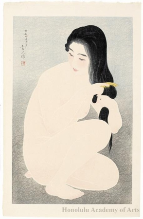 Torii Kotondo: Combing The Hair - Honolulu Museum of Art