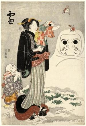Utagawa Kunisada: Snow - Honolulu Museum of Art