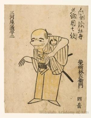 Nichösai: Actor Mikawaya Giheiji - Honolulu Museum of Art