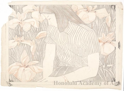 Okiie: Young Woman and Iris - Honolulu Museum of Art