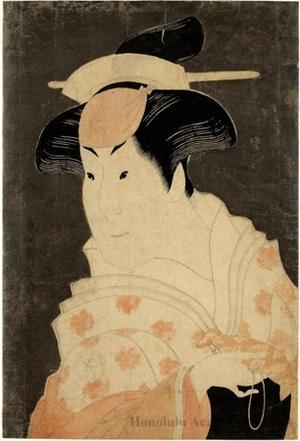 Toshusai Sharaku: The Onnagata Actor Iwai Hanshirö - Honolulu Museum of Art