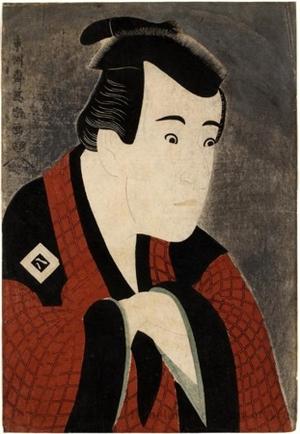 東洲斎写楽: Ichikawa Yaozö III in the role of Tanabe Bunzö - ホノルル美術館