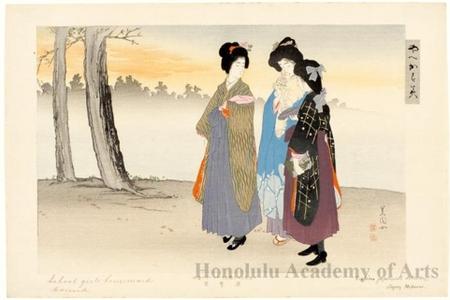 Ikeda Shöen: Schoolgirls Homeward Bound - Honolulu Museum of Art