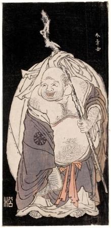 Katsukawa Shunsho: Hotei - Honolulu Museum of Art