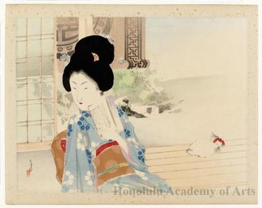 Mizuno Toshikata: Beauty in the Shade of Bamboo Blind - Honolulu Museum of Art