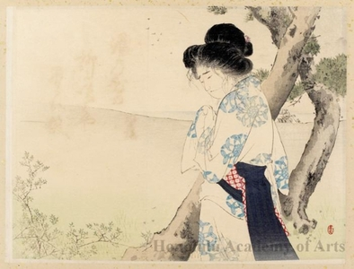 Mizuno Toshikata: A Mad Woman in Yawata - Honolulu Museum of Art