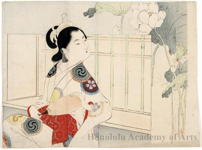 Mizuno Toshikata: Courtesan - Honolulu Museum of Art