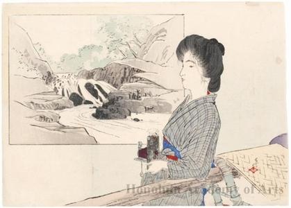 Tsutsui Toshimine: Mountain Palanquin - Honolulu Museum of Art