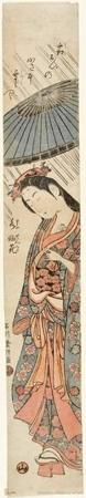 Ishikawa Toyonobu: Ono no Komachi - Honolulu Museum of Art
