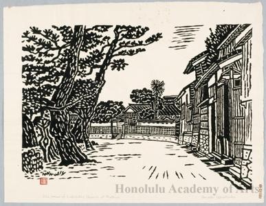 Hiratsuka Unichi: Old House of Lafcadio Hearn At Matsue - Honolulu Museum of Art