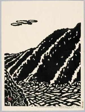 Hiratsuka Unichi: Rice Fields in Valley ( sloping hill ) - decription - Honolulu Museum of Art