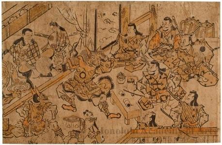 無款: Shutendöji's Banquet - ホノルル美術館