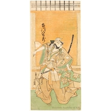 Ippitsusai Buncho: The Actor Ichikawa Yaozö - Honolulu Museum of Art