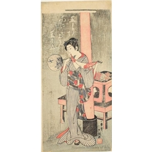 Ippitsusai Buncho: Osen of Kasamori Shrine - Honolulu Museum of Art