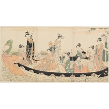 Hosoda Eishi: Treasure Ship - Honolulu Museum of Art