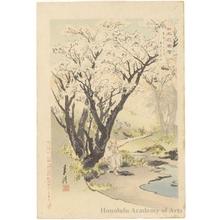 Ogata Gekko: Mt. Yoshino in Full Bloom - Honolulu Museum of Art