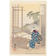 Ogata Gekko: Shokujo the Weaver - Honolulu Museum of Art