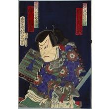 Adachi Ginko: Nakamura Kanjaku as Mihonotani Shirö Kunitoshi - Honolulu Museum of Art