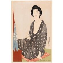 橋口五葉: Summer Kimono - ホノルル美術館