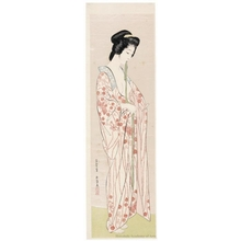 Hashiguchi Goyo: Woman in a Long Undergarment - Honolulu Museum of Art