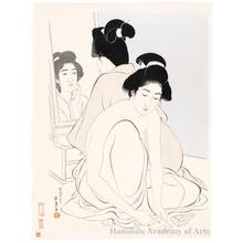 Hashiguchi Goyo: Two Women After Bath - Honolulu Museum of Art