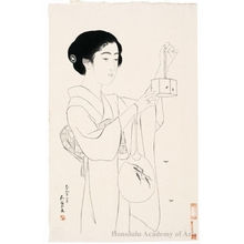 Hashiguchi Goyo: Woman with Firefly Cage - Honolulu Museum of Art