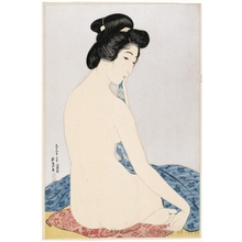 Hashiguchi Goyo: Woman After the Bath - Honolulu Museum of Art