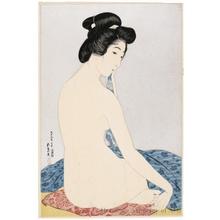 橋口五葉: Woman After the Bath - ホノルル美術館