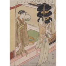 Suzuki Harunobu: Lady Roko - Honolulu Museum of Art