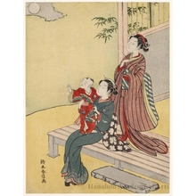 Suzuki Harunobu: The Moon Gazer - Honolulu Museum of Art