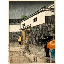 Kawase Hasui: Uchisange, Okayama - Honolulu Museum of Art