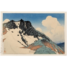 Kawase Hasui: Mount Asahi seen from Mount Hakuba - Honolulu Museum of Art
