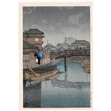 川瀬巴水: Shinagawa - ホノルル美術館