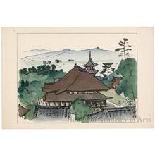 Nakazawa Hiromitsu: Kiyomizudera Temple - ホノルル美術館