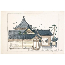 Nakazawa Hiromitsu: Rokkakudö Temple - ホノルル美術館