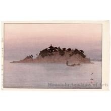 吉田博: Tomonourna - ホノルル美術館