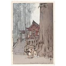 Yoshida Hiroshi: A Misty Day in Nikko - Honolulu Museum of Art
