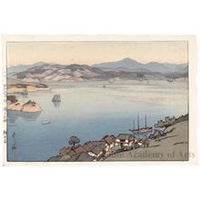 吉田博: A Calm Day - ホノルル美術館