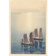 吉田博: Glittering Sea - ホノルル美術館