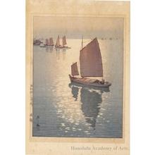 吉田博: Calm Wind - ホノルル美術館