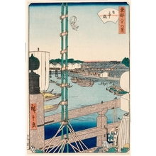 Utagawa Hiroshige II: Nihonbashi - Honolulu Museum of Art