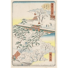 Utagawa Hiroshige II: Sanno Gongen Shrine - Honolulu Museum of Art