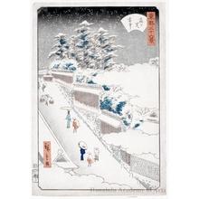 二歌川広重: Kasumigaseki - ホノルル美術館
