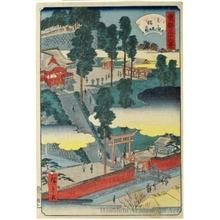Utagawa Hiroshige II: Öji Inari - Honolulu Museum of Art