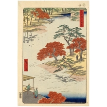 歌川広重: Inside Akiba Shrine, Ukeji - ホノルル美術館