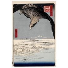 Utagawa Hiroshige: Fukagawa Susaki and Jümantsubo - Honolulu Museum of Art