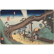 Utagawa Hiroshige: Motoyama - Honolulu Museum of Art